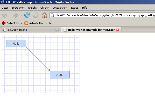 Mxgraph user manual javascript client for Window onload not working in ie